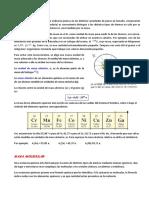 Masa atómica, masa molecular y moles. Ejercicios