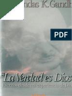 La Verdad es Dios, Mohandas Gandhi.pdf