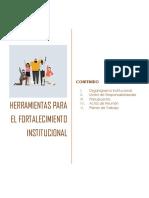 Ejemplos Ilustrativos - Herramientas de fortalecimiento institucional