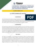 AC-03-2013-CSJ Competencia Sustraccion Menores