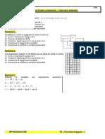 TD2 - Fonctions logiques