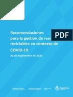 Recomendaciones para la gestión de residuos reciclables en contexto de COVID-19.pdf