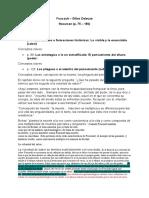 Foucault - Resumen