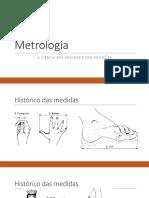 Metrologia - Introdução