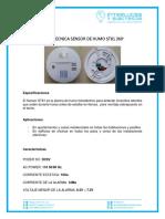 FICHA TECNICA SENSOR DE HUMO ST81 360°