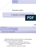 Cours 2 - L'exclusion mutuelle