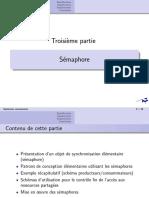 Cours 3 - Sémaphore
