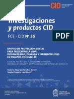 UN PISO DE PROTECCIÓN SOCIAL PARA PRESERVAR LA VIDA INFORMALIDAD, POBREZA Y VULNERABILIDAD EN TIEMPOS DE COVID-19