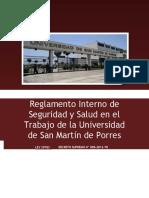Reglamento Interno de Seguridad y Salud en el Trabajo de la ....docx