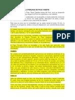 PATRON DEL CABALLO PERUANO DE PASO