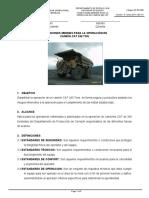 1 ES-PD-038 CONDICIONES MINIMAS PARA LA OPERACION DE CAMION CAT 240 TON