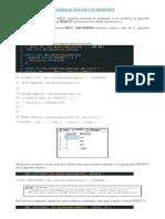SQL  - Modificando la numeracion de una tabla con Identity