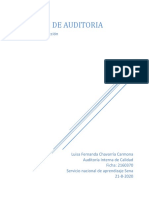 Taller Aa4 Informe de Auditoria