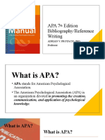 APA Referencing 7th Edition