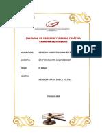 LOS PROBLEMAS CONSTITUCIONALES DEL PERU