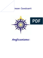 Livro Anglicanismo  -Identida , Relevancia, Desafios - Robinson Cavalcanti