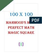 100x100 Mahmood's Most Perfect Math Magic