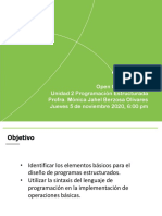 Open Class Semana 2 Programación Estructurada