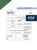 Programa de auditoria de un empresa