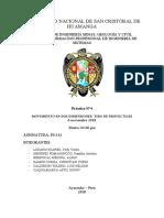 informe 4 2018