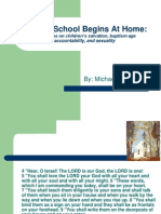 Sunday School Begins at Home, For Parents