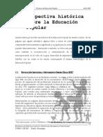 Curso 41 - 2 Perspectiva histórica sobre la Educación Popular