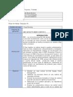 Información General del Proyecto  evidencia 1