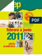 Catálogo 2011 febrero a junio