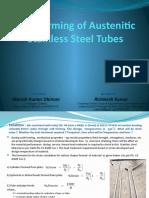 Stainless Steel Tubes bending