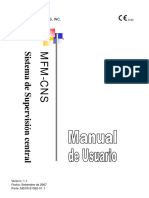 MS1R-31352-MFM-CNS Central Nurse Station User Manual_Spanish