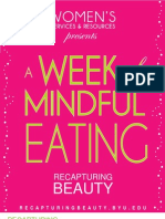 A Week of Mindful Eating