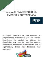 ANÁLISIS FINANCIERO DE LA EMPRESA Y SU TENDENCIA.pptx