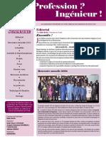 N° 003 Newsletter Avril 2012