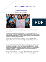 DE LA ANARQUÍA A LA RECONSTRUCCIÓN NACIONAL