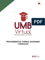 3.1 Texto Guía Procedimientos, Formas, Diagramas y Manuales