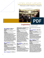 CALCASA Legislative Update 02/04/11