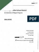 Part i - Sdusd Msa Report