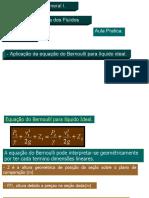 Teorema de Bernoulli  Aula práctica