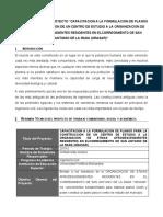 FORMATO PARA INFORME DE FONDOS. avance