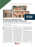 Alternativas estratégicas para los mercados minoristas tradicionales