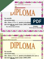 Mate.Info.Ro.599 35 de Diplome Scolare