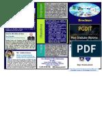 PGDIT Brochure (english)