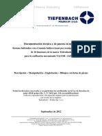 DTR Comando hidraulico bidireccional TIEFENBACH  ESP