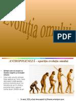 antropogeneza