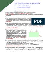 lista de exercícios  hidraulica