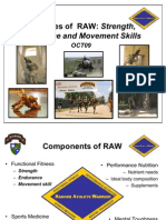 Principles of RAW Training