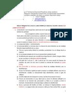 Masuri de Biosecuritate Interna 23.03.2020
