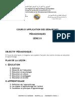 4- Application des démarches pédagogiques vu