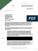 NL Government Response to AEG