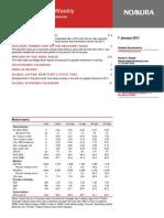 46652353 Nomura US Economic Weekly 2011-01-07 Copy